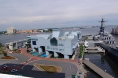 Nauticus Museum and USS Wisconsin