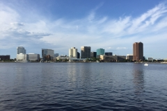 Downtown Norfolk Skyline